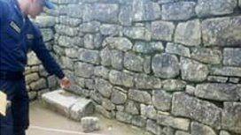 Condenaron a tres años y cuatro meses de prisión al argentino que defecó en el Machu Picchu