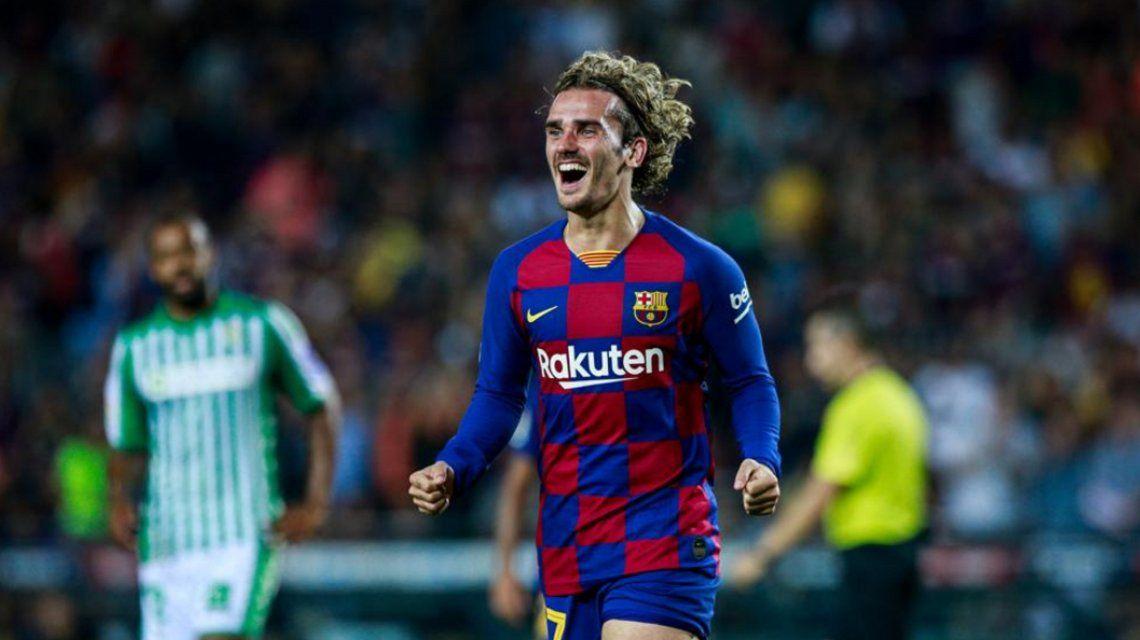 Griezmann salvó a Barcelona del papelón frente al modesto Ibiza