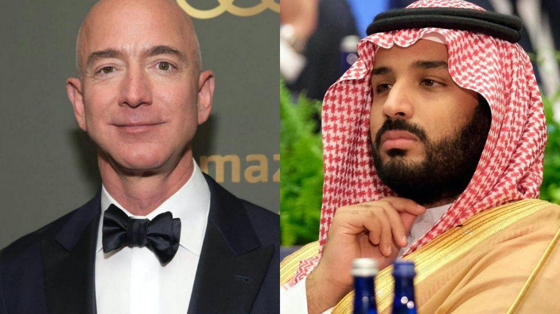 Acusan al príncipe de Arabia Saudita de hackear el celular del creador de Amazon