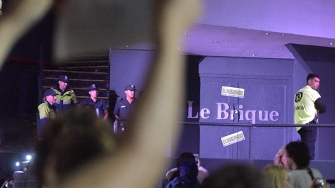 Clausuraron el boliche Le Brique