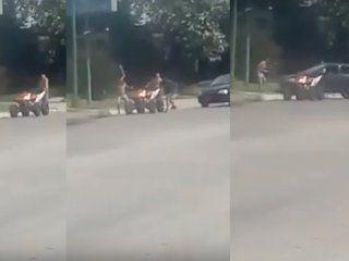 detuvieron a dos personas por la pelea a piedras y machetazos en tucuman
