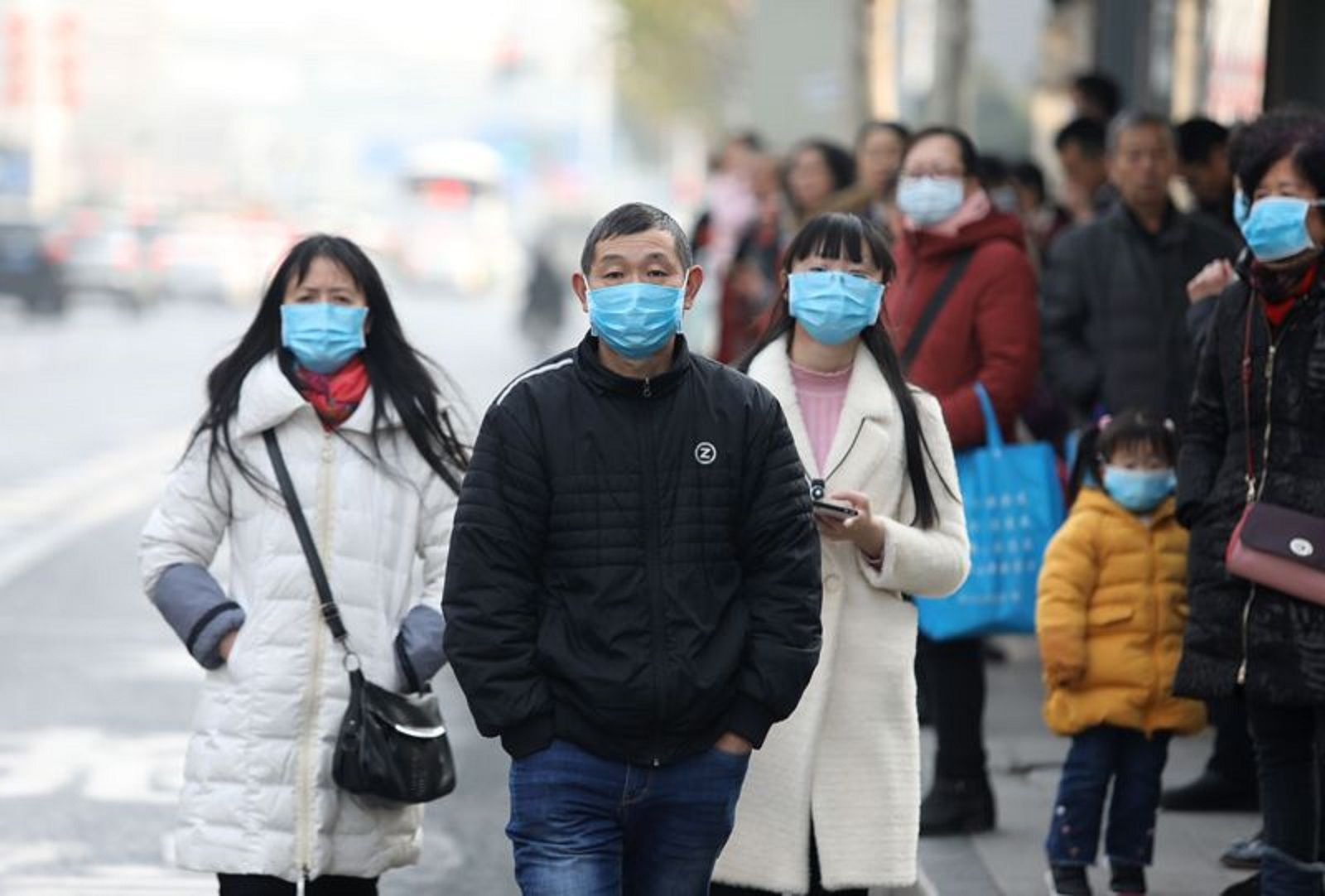 La epidemia fue detectada por primera vez en un mercado de abastos de la ciudad.