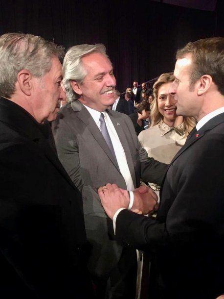 Alberto Fernández junto al presidente de Israel, Reuven Rivlin.