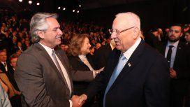 Alberto participó del Foro del Holocausto: El antisemitismo es una enfermedad, dijo el presidente israelí