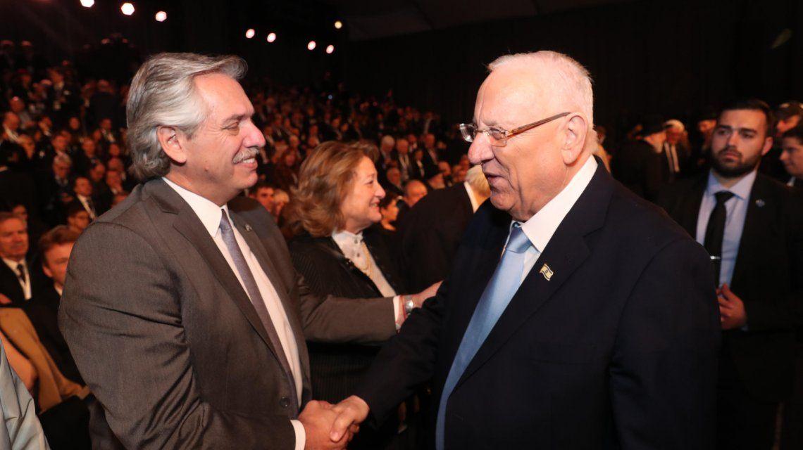 Israel: Alberto Fernández participó del Foro Internacional del Holocausto