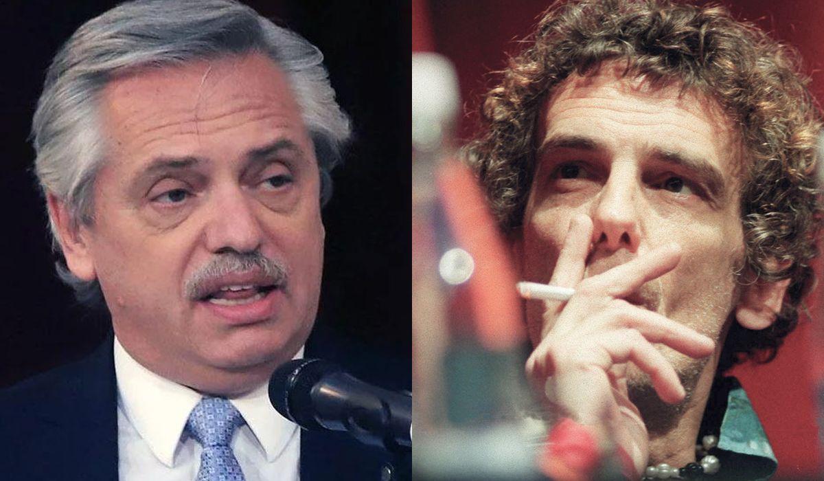 El recuerdo de Alberto Fernández sobre Luis Alberto Spinetta: Fue un músico excepcional