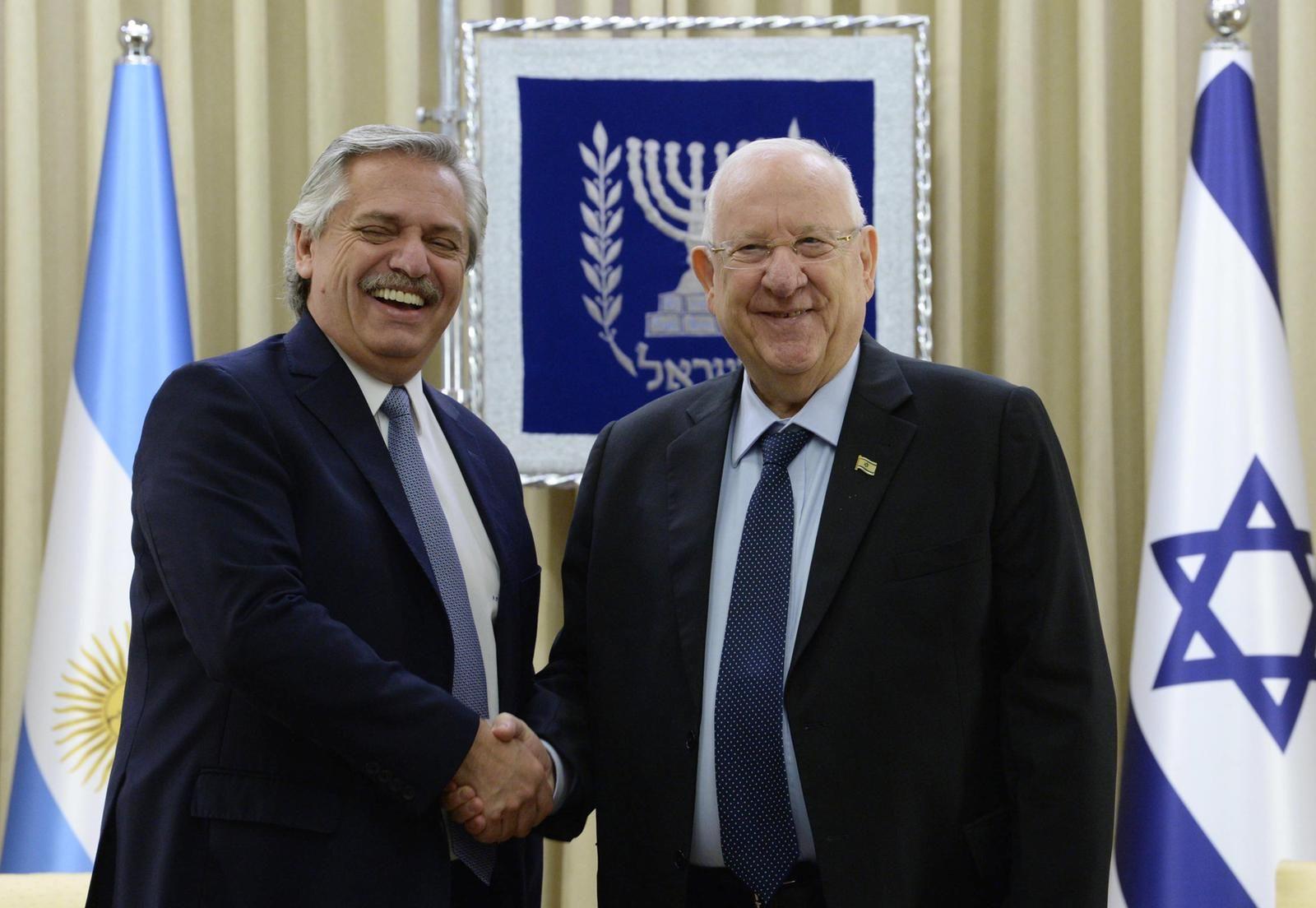 Alberto Fernández cerró su gira por Israel: Nuestro compromiso por saber lo que pasó con la AMIA es absoluto