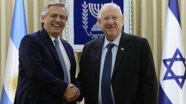 Alberto cerró su gira por Israel: Nuestro compromiso por saber lo que pasó con la AMIA es absoluto