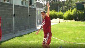 El gol imposible de Quintero en una práctica que enloquece a los hinchas de River