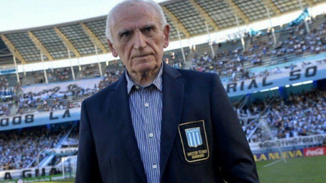 Murió el histórico ídolo de Racing Juan José Pizzuti
