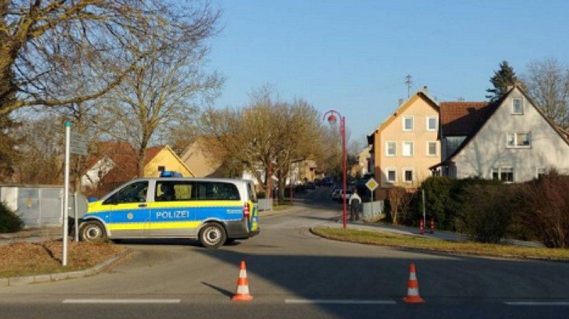Alemania: un tiroteo dejó al menos seis muertos en la ciudad de Rot am See