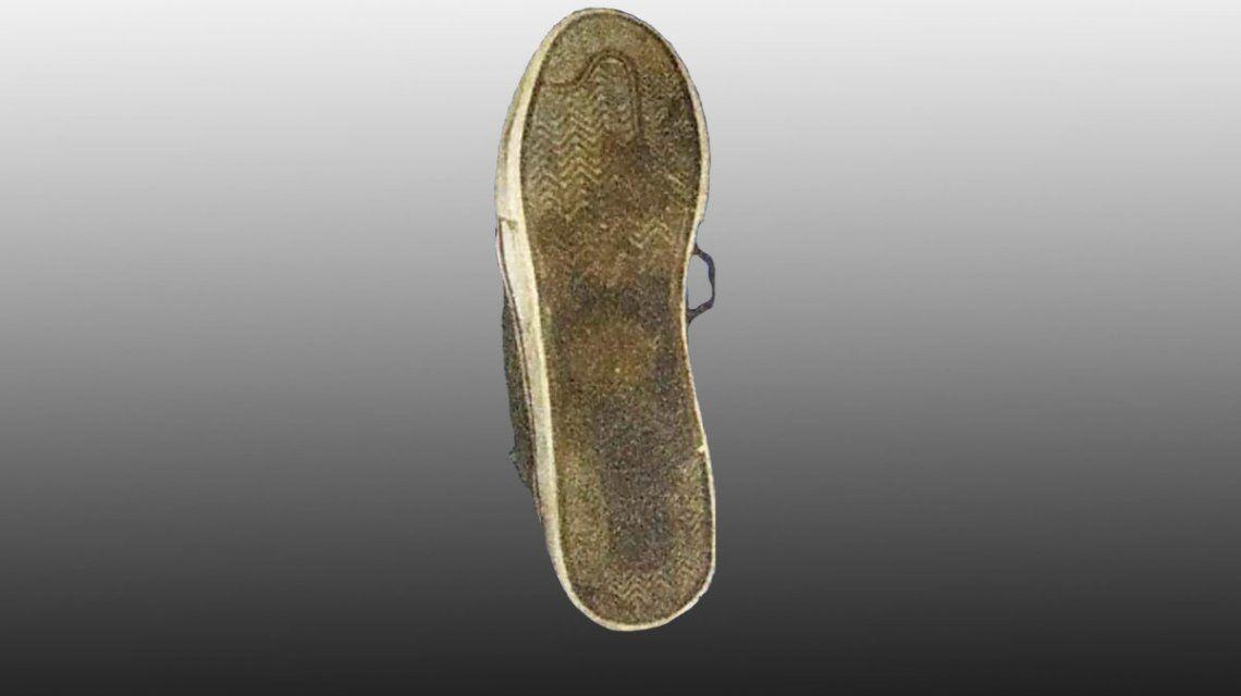 Crimen de Villa Gesell: esta es la zapatilla que los rugbiers quisieron plantarle a Pablo Ventura