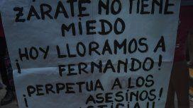 Una de las pancartas que se vieron en la marcha