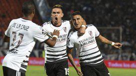 River le ganó a Godoy Cruz en Mendoza y ahora es el único líder de la Superliga