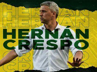 hernan crespo es el nuevo entrenador de defensa y justicia