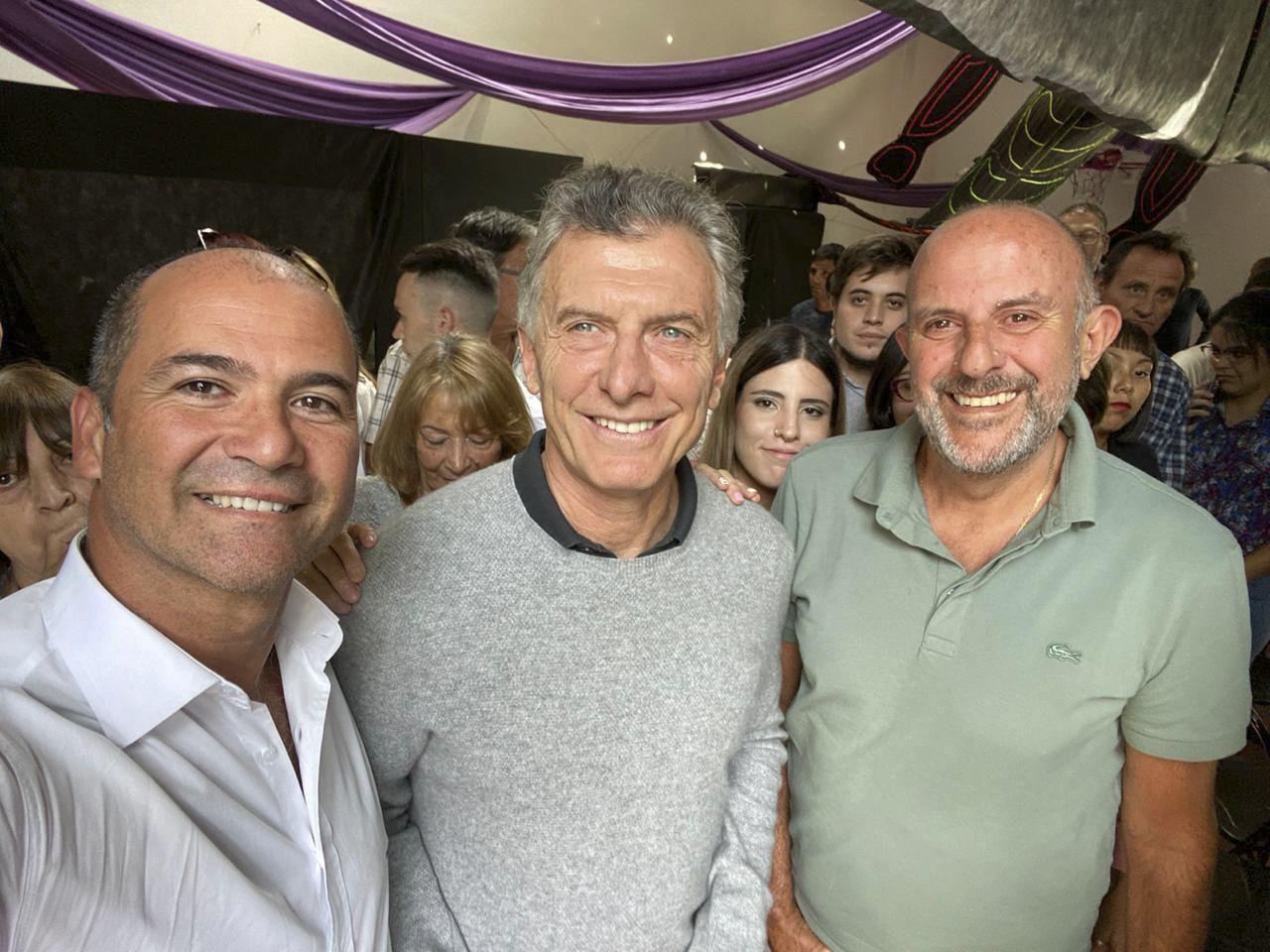 Mauricio Macri en Villa La Angostura