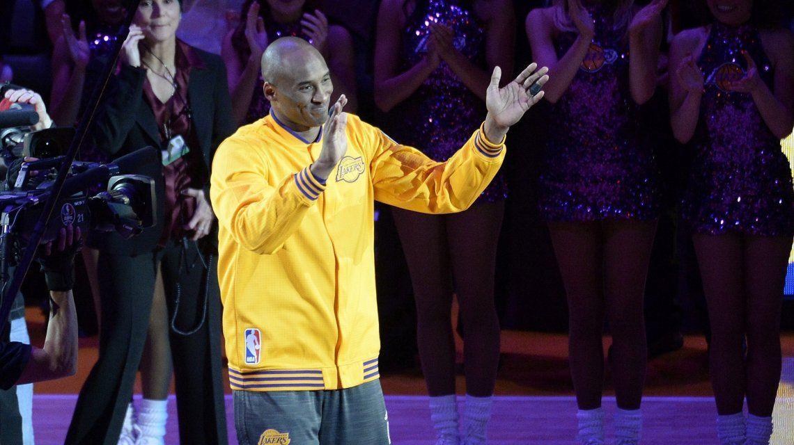 Murió Kobe Bryant, estrella de la NBA