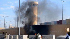 Atacaron la Embajada de Estados Unidos en Bagdad