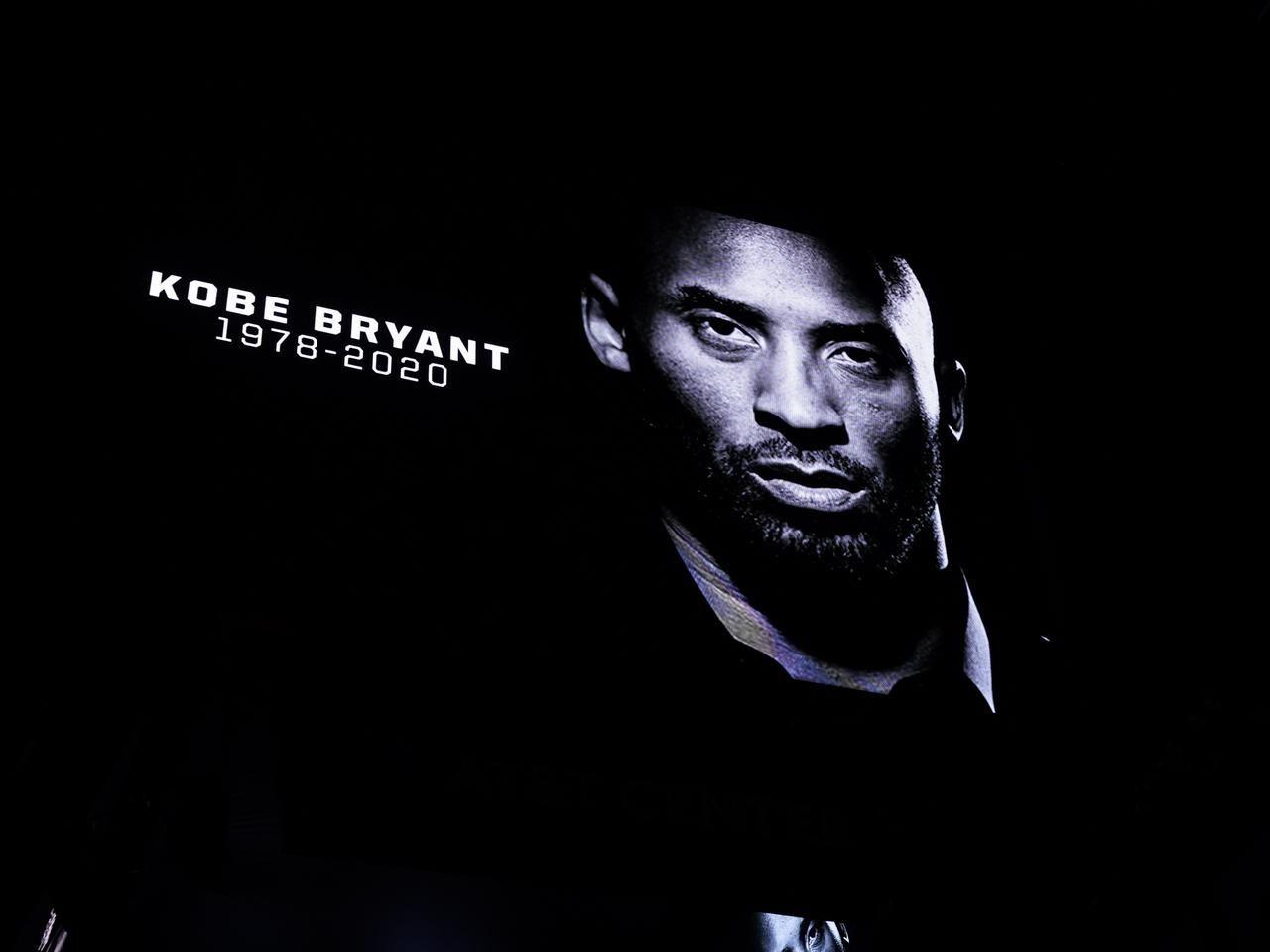 Anunciaron la muerte de Kobe Bryant en pleno partido de la NBA y todo el estadio hizo un conmovedor minuto de silencio