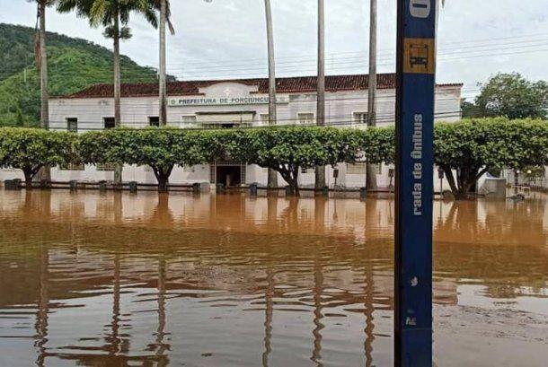 Inundaciones en Brasil dejaron al menos 53 muertos. Foto: odia.ig.com.br