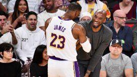 Conmovedor: la emotiva despedida de LeBron James a Kobe Bryant en Instagram