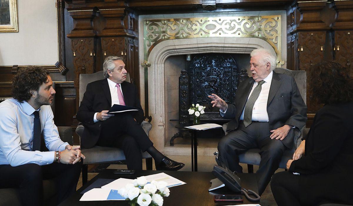 Alberto Fernández se reunió con Ginés González García por el coronavirus