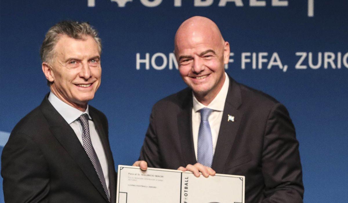Mauricio Macri fue nombrado como presidente ejecutivo de la Fundación FIFA