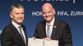 Macri fue nombrado como presidente ejecutivo de la Fundación FIFA