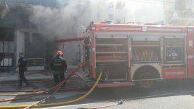 Se incendió un supermercado en Palermo: al menos seis heridos y una mujer atrapada
