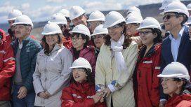 Cristina visitó represas en construcción y acusó a Macri de abandono y desidia por paralizar las obras