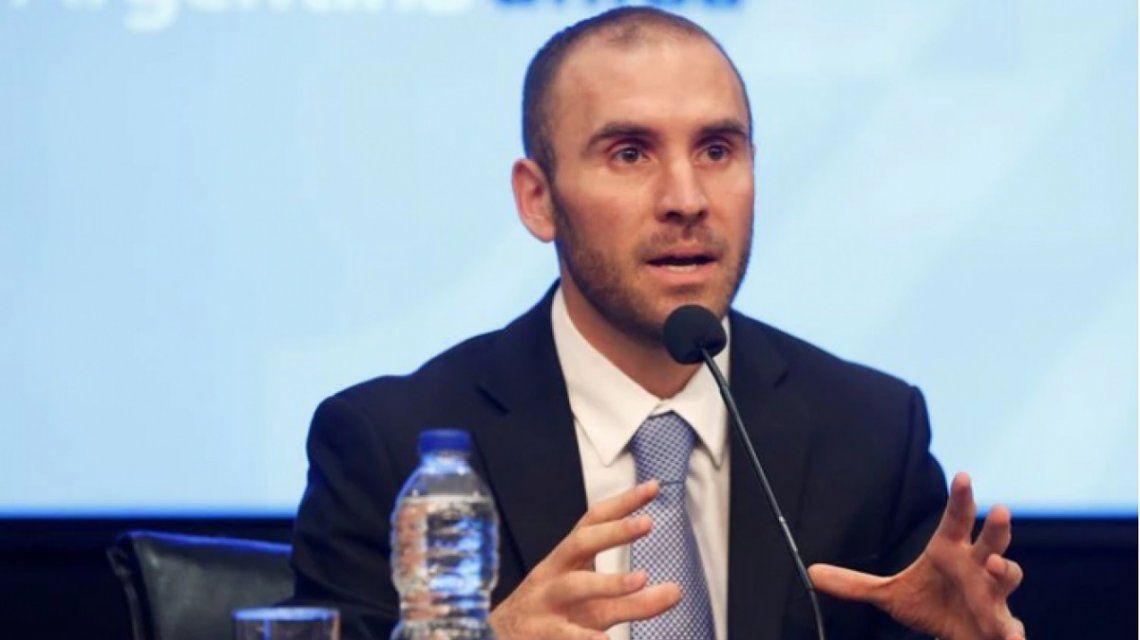 Ministro de Economía Martín Guzmán