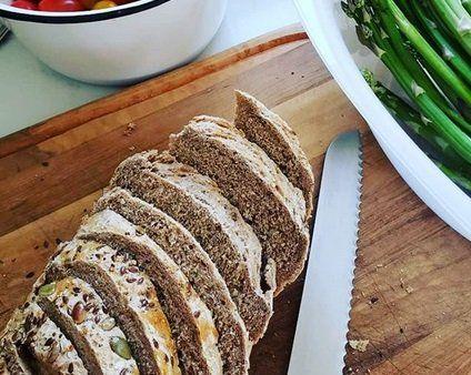 Panes artesanales al modelo de harinas orgánicas de Cocina Melita.