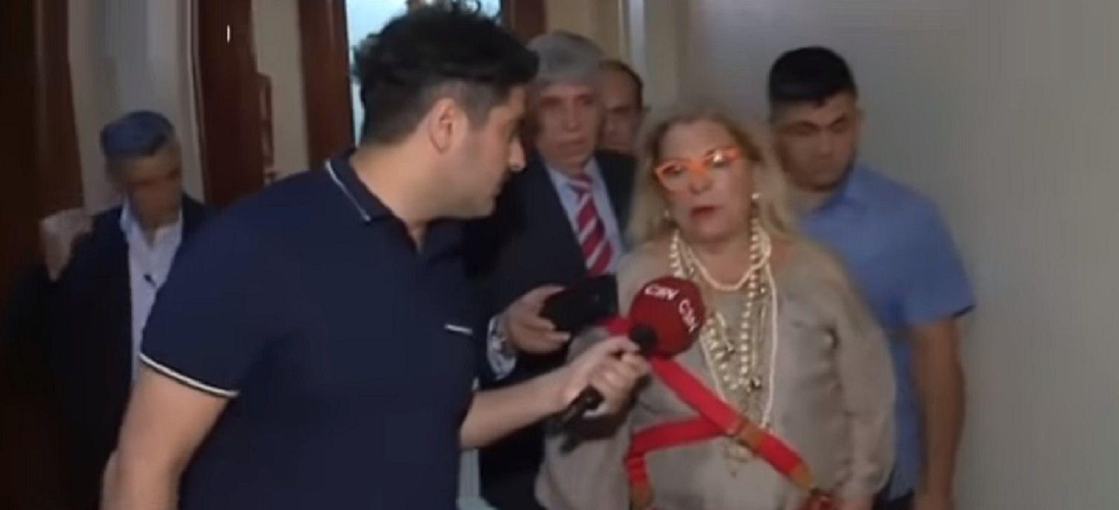 Elisa Carrió con Lautaro Maislin