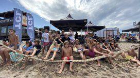 Las promesas del surf argentino estuvieron de fiesta en Mar del Plata