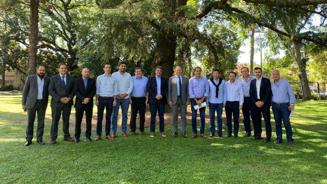 Jorge Macri recibió en Vicente López a Sergio Berni