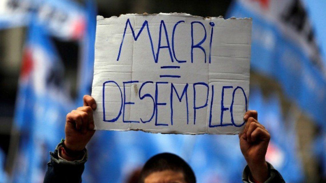 Macri = desempleo