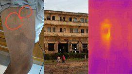 Fotografió un hotel abandonado y afirma que registró a varios fantasmas