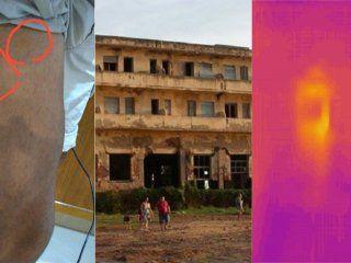 fotografio un hotel abandonado y afirma que registro a varios fantasmas
