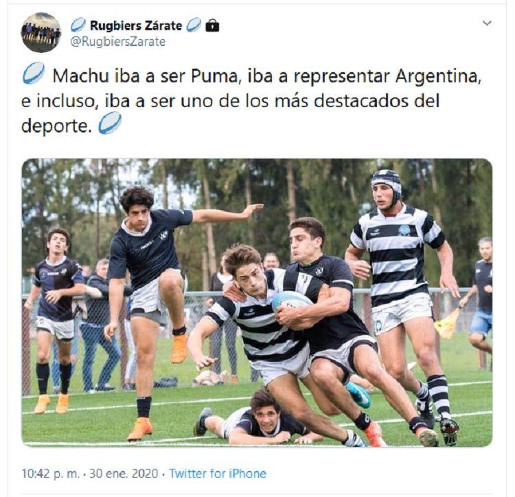 Una cuenta de Twitter defiende a los rugbiers acusados del crimen de Fernando Báez Sosa