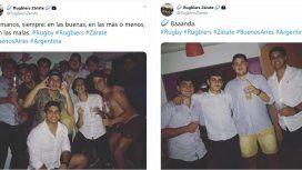 Una cuenta de Twitter defiende a los rugbiers acusados del crimen de Fernando