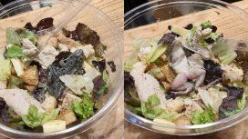 Cerraron el local de comida vegetariana que tenía una rana muerta en una ensalada