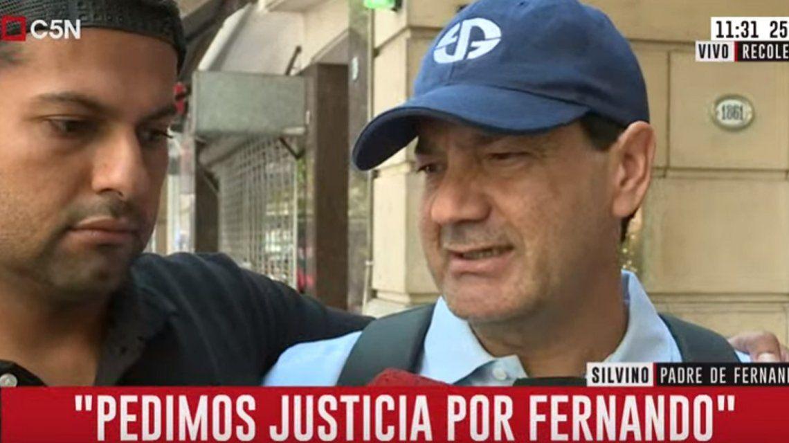 Silvino, papá de Fernando Báez Sosa: Me gustaría despertar de esta pesadilla