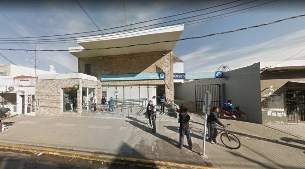 La sucursal del Banco Nación ubicada en la calle Roma 3271