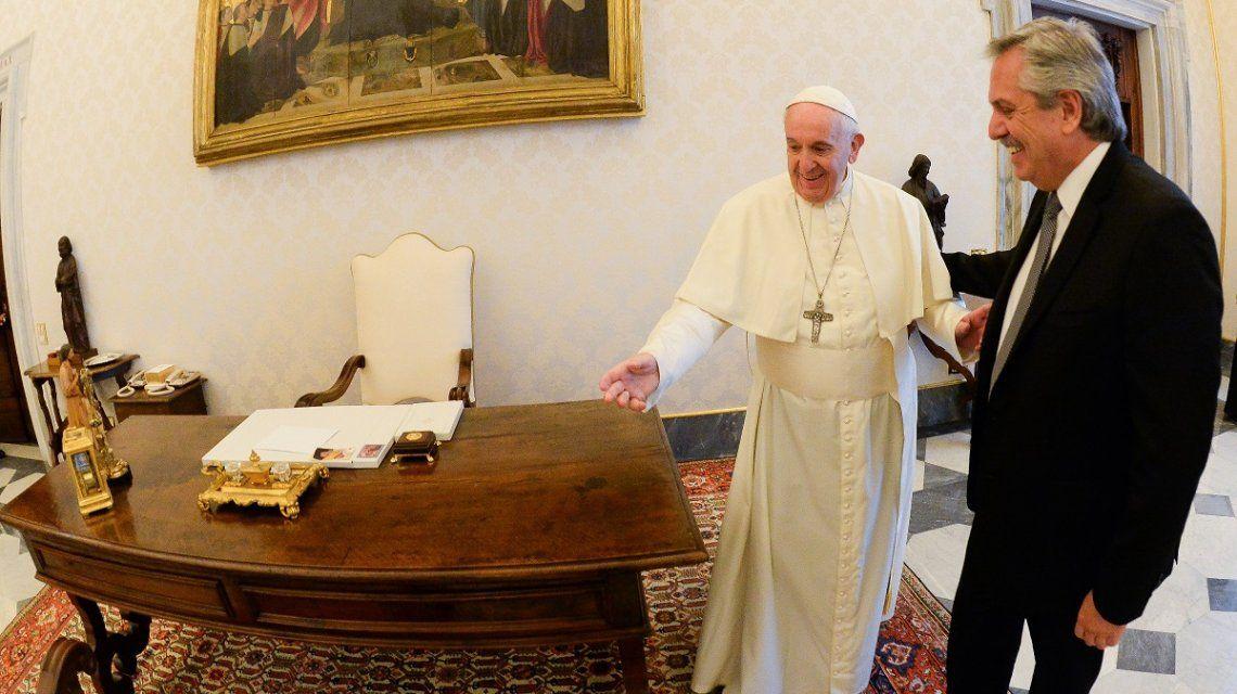 Alberto Fernández: Francisco es un líder moral que me reencuentra con la mejor Iglesia