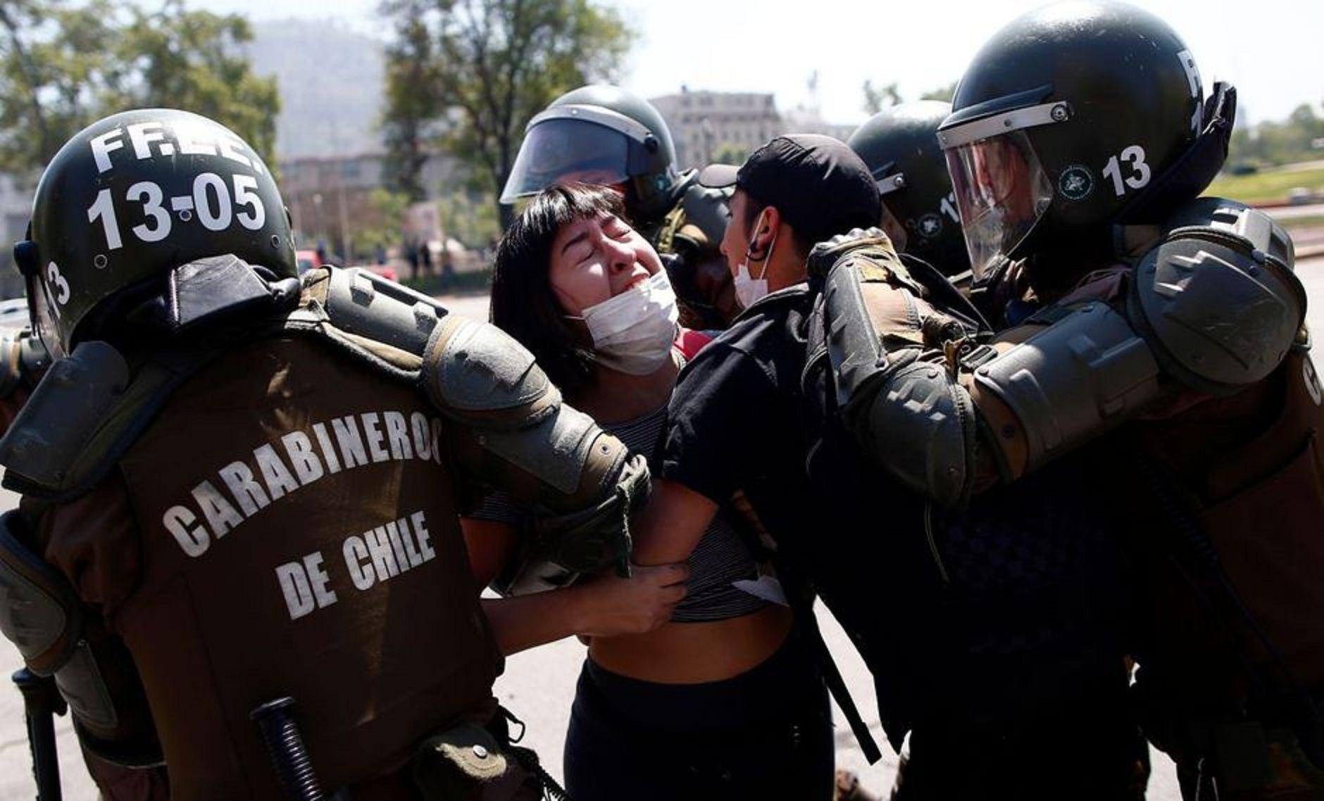 Denuncian más de 5.000 casos de violaciones a los derechos humanos en Chile