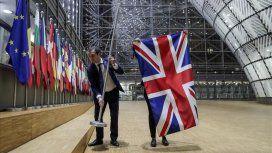 La Union Jack fue retirada de la sede de la Unión Europea