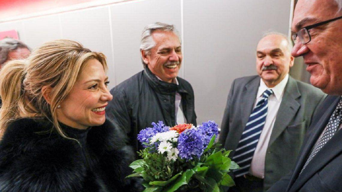 Alberto Fernández llegó a Alemania en busca de apoyo para renegociar la deuda