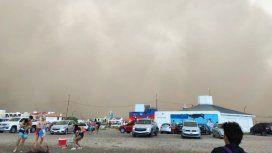 Imágenes del temporal que azotó a Chubut. (Fotos gentileza portal El Chubut)