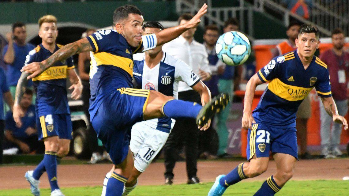 Boca le ganó a Talleres en Córdoba y sigue prendido en la lucha por la Superliga