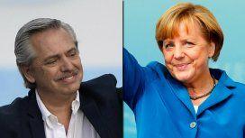 Alberto Fernández se reunirá con Angela Merkel en una reunión clave por la deuda